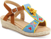 Hanna Andersson Anika Sandals, Toddler, Little Girls (4.5-3) and Big Girls (3.5-7)