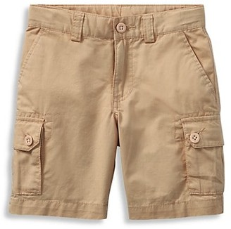 Ralph Lauren Little Boy's Chino Gellar Cargo Shorts