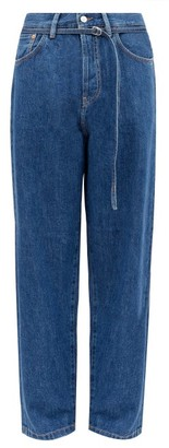 Acne Studios 1991 Toj Belted High-rise Straight-leg Jeans - Blue