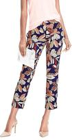 Banana Republic Avery-Fit Leaf Print Pant