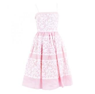 Oscar de la Renta \N White Cotton Dresses