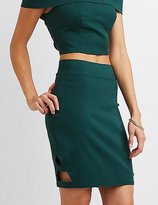 Charlotte Russe Millenium Caged Pencil Skirt
