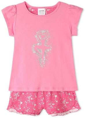 Milkshake Glitter Ballerina Pyjama Set