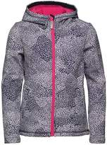 Bench Girls All Over Print Softshell Coat Blue