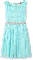 Speechless Embellished-Waist Tulle Dress, Girls Plus (10-20)