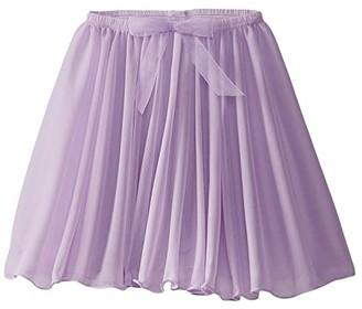 Capezio Pull-On Circular Skirt (Toddler/Little Kids/Big Kids) (Black) Girl's Skirt