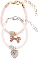 Monsoon 2x Pearly Encased Trinket Bracelets