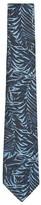 Topman Men's Cabana Leaf Print Woven Tie