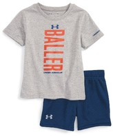 Under Armour Infant Boy's Baller T-Shirt & Shorts Set