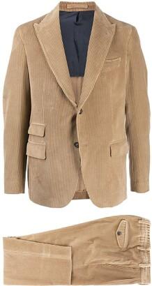 Eleventy Corduroy Two-Piece Suit