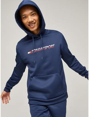 Tommy Hilfiger Stretch Fleece Logo Hoodie