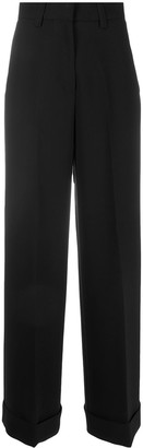 Pt01 Hight-Waisted Tailored Trousers