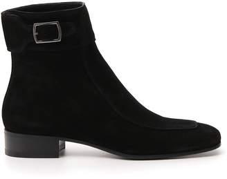 Saint Laurent Miles 30 Ankle Boots