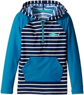 Hatley Toothy Shark Hooded Rashguard Boy's Swimwear