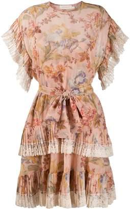 Zimmermann Iris floral print dress