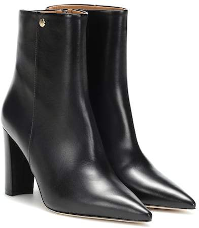 b9a63aa46 Tory Burch Leather Boots - ShopStyle