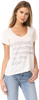 Sol Angeles Poolside V Neck Tee
