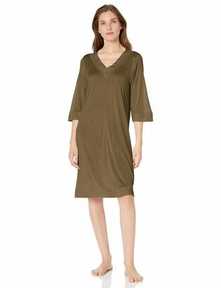 Hanro Women's Hella 3/4 Sleeve Gown