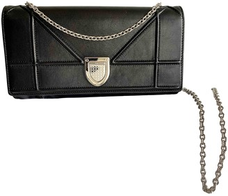 Christian Dior Diorama Beige Leather Handbags