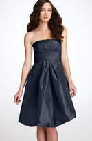 Strapless Taffeta Bubble Dress