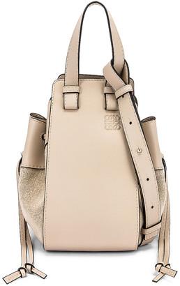 Loewe Hammock DW Small Bag in Light Oat | FWRD