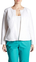 Lafayette 148 New York Catrice Linen Jacket (Plus Size)