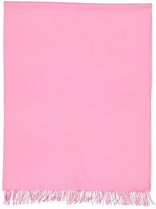 Hermes Pink Cashmere Scarves