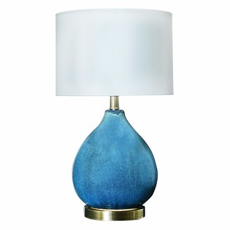 Creative Co-op 21 Inch Ceramic Table Lamp