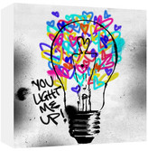 """PTM Images You Light Me Up Mounted Giclee Print - 20\"""" x 20\"""""""