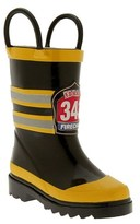 Western Chief 'Fireman' Rain Boot (Walker, Toddler, Little Kid & Big Kid)