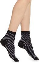 Balenciaga Logo Cotton Blend Ankle Socks