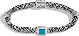 John Hardy Women's Classic Chain 5MM Bracelet in Sterling Silver with Black Onyx