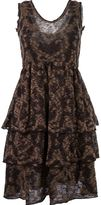 Cecilia Prado round neck knitted dress