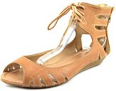 Mia Damsel Women US 7 Tan Gladiator Sandal
