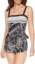 LE COVE Le Cove Pattern Swim Dress