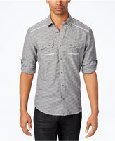 INC International Concepts Men's Textured Shirt, Created for Macy's