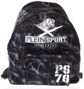Philipp Plein Lightning Printed Backpack With Logo