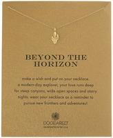 Dogeared Beyond the Horizon Cactus Reminder Necklace