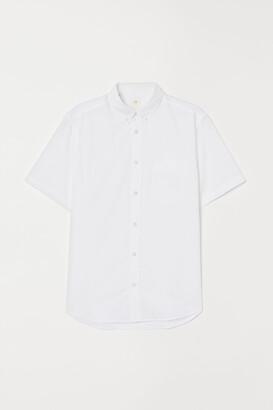 H&M Regular Fit Cotton Shirt