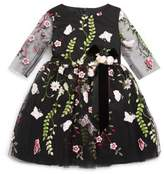 David Charles Toddler's & Little Girl's Embroidered Floral Dress