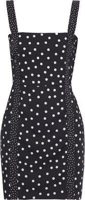 Solid & Striped Polka-dot Poplin Mini Dress