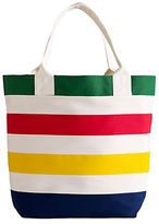Hudson'S Bay Company Multi-Color Stripe Tote Bag