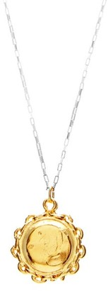 Alighieri The Invisible Compass 24kt Gold-plated Necklace - Gold