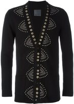 Laneus embellished button down cardigan