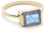 Margaret Elizabeth - Channel Set Ring Labradorite