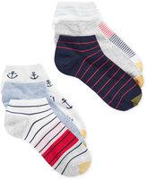Gold Toe Women's 6-Pk. Seaside Liner Socks