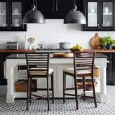 Williams-Sonoma Williams Sonoma Barrelson Kitchen Island with Black Granite Top