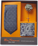 Ben Sherman 3Pc Camden Dot Silk-Blend Tie Set