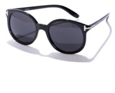 Black Round Oxford Sunglasses