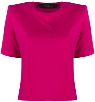 FEDERICA TOSI padded shoulder T-shirt